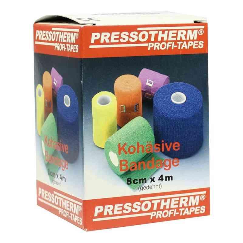 Pressotherm Kohäsive Bandage 8cmx4m gelb  bei versandapo.de bestellen