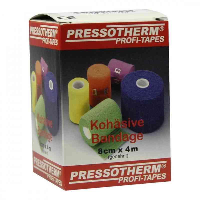 Pressotherm Kohäsive Bandage 8cmx4m blau  bei versandapo.de bestellen