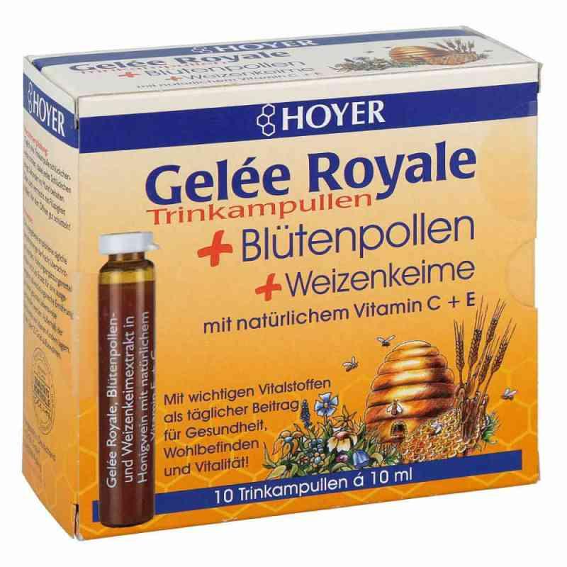 Hoyer Gelee Roy.+blütenpol.+weizenk. Trinkampullen  bei versandapo.de bestellen