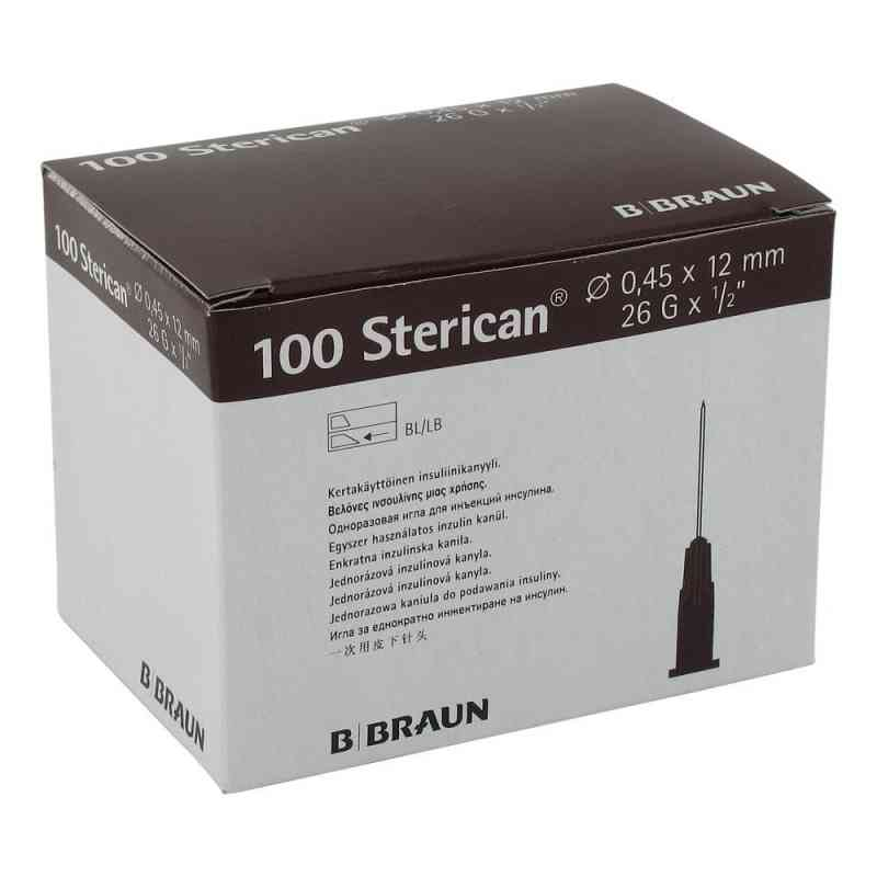 Sterican Ins.einm.kan.26gx1/2 0,45x12 mm  bei versandapo.de bestellen
