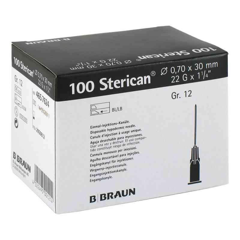 Sterican Kanüle luer-lok 0,70x30mm Größe 12  schwarz  bei versandapo.de bestellen
