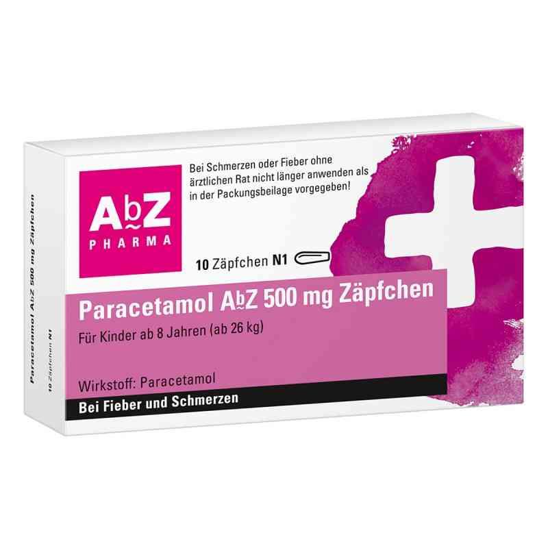 Paracetamol AbZ 500mg  bei versandapo.de bestellen