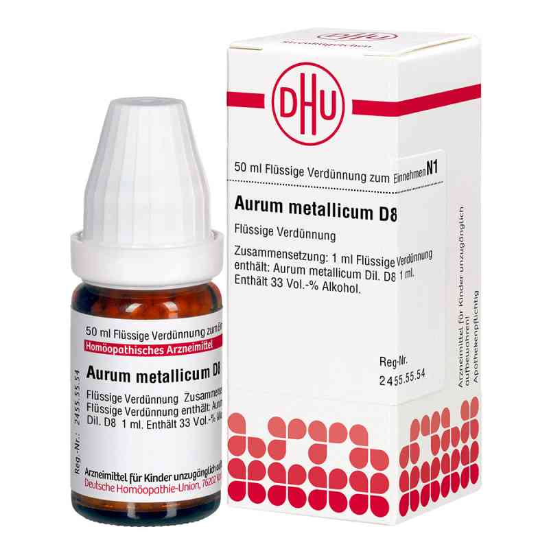 Aurum Metallicum D 8 Dilution  bei versandapo.de bestellen