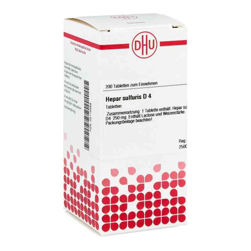 Hepar Sulfuris D 4 Tabletten  bei versandapo.de bestellen