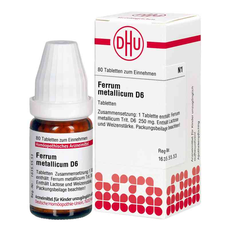 Ferrum Metallicum D 6 Tabletten  bei versandapo.de bestellen