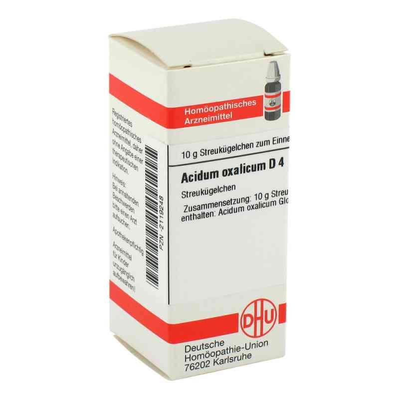 Acidum Oxalicum D 4 Globuli  bei versandapo.de bestellen