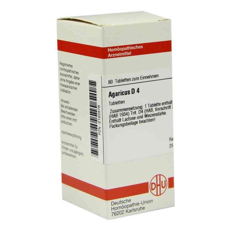 Agaricus D 4 Tabletten  bei versandapo.de bestellen