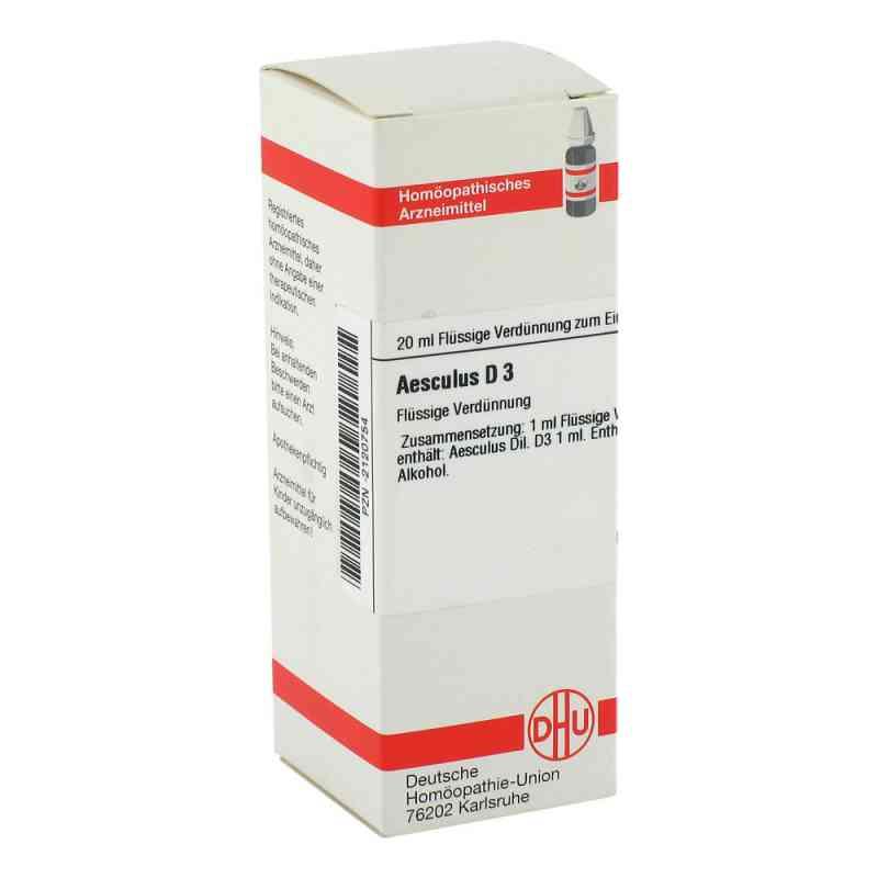 Aesculus D 3 Dilution  bei versandapo.de bestellen