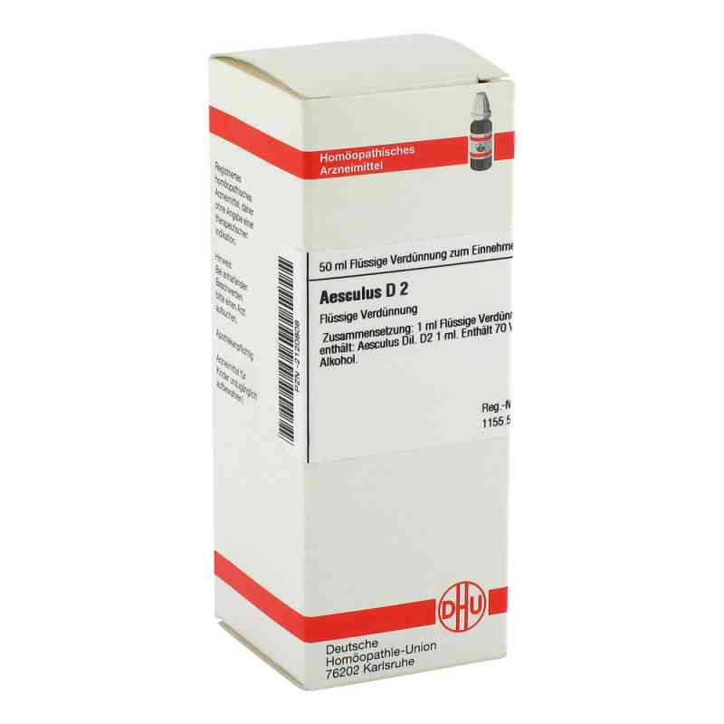 Aesculus D 2 Dilution  bei versandapo.de bestellen