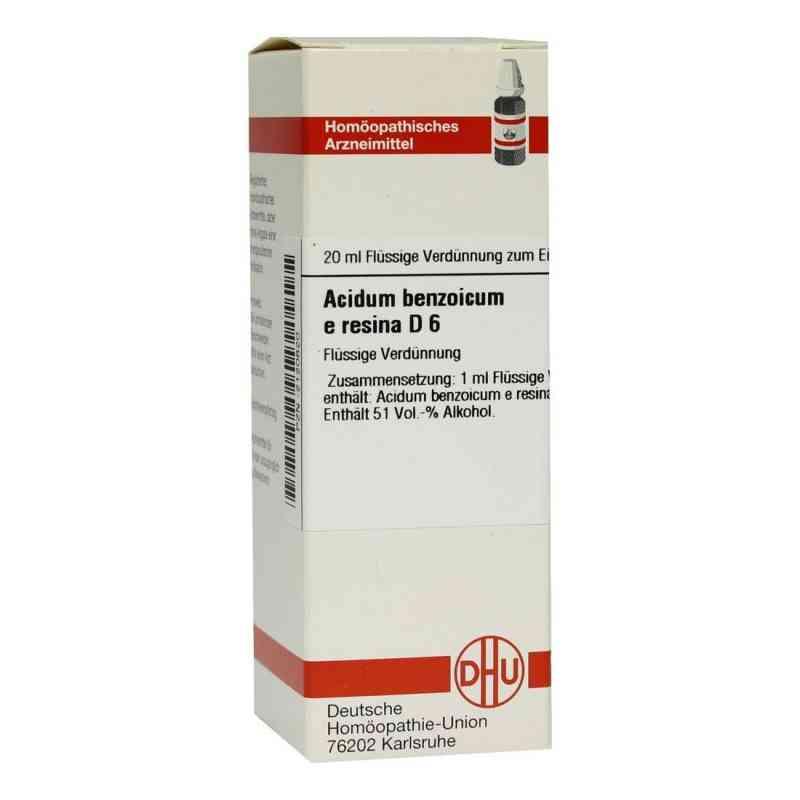 Acidum Benzoicum E.res. D 6 Dilution  bei versandapo.de bestellen
