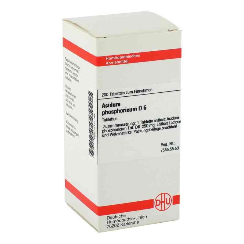 Acidum Phosphoricum D 6 Tabletten  bei versandapo.de bestellen