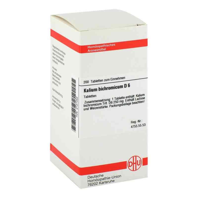 Kalium Bichromicum D 6 Tabletten  bei versandapo.de bestellen