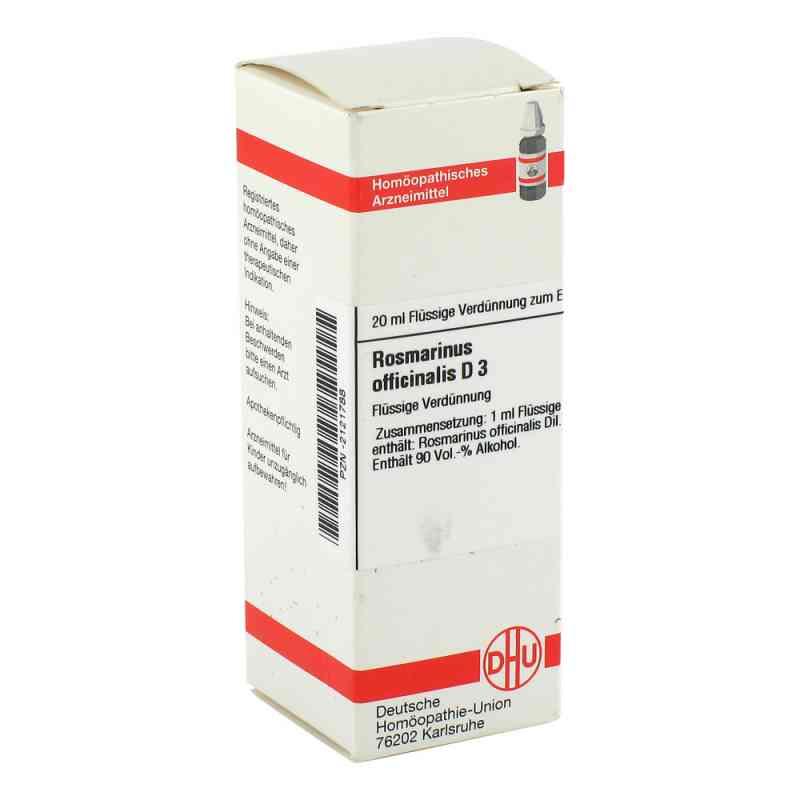 Rosmarinus Off. D 3 Dilution  bei versandapo.de bestellen