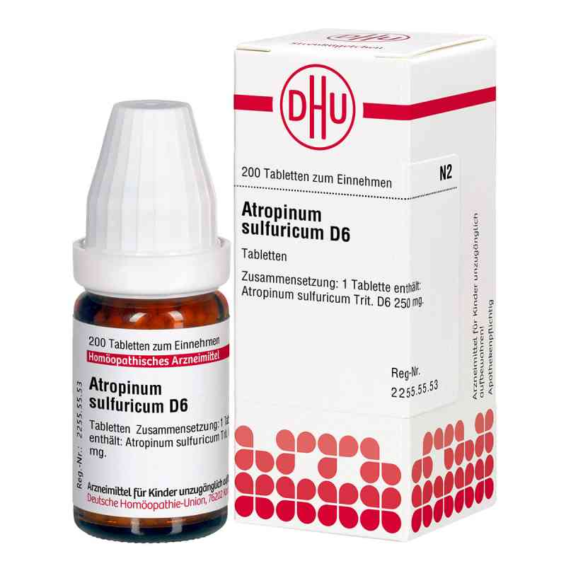 Atropinum Sulfuricum D 6 Tabletten  bei versandapo.de bestellen