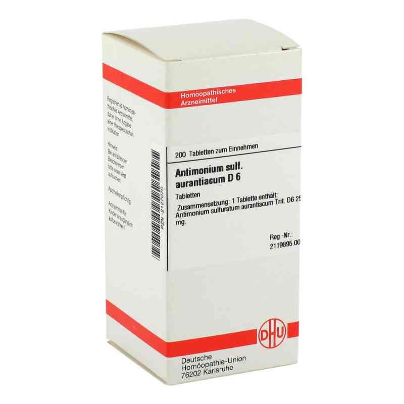 Antimonium Sulf. Aurant. D 6 Tabletten  bei versandapo.de bestellen