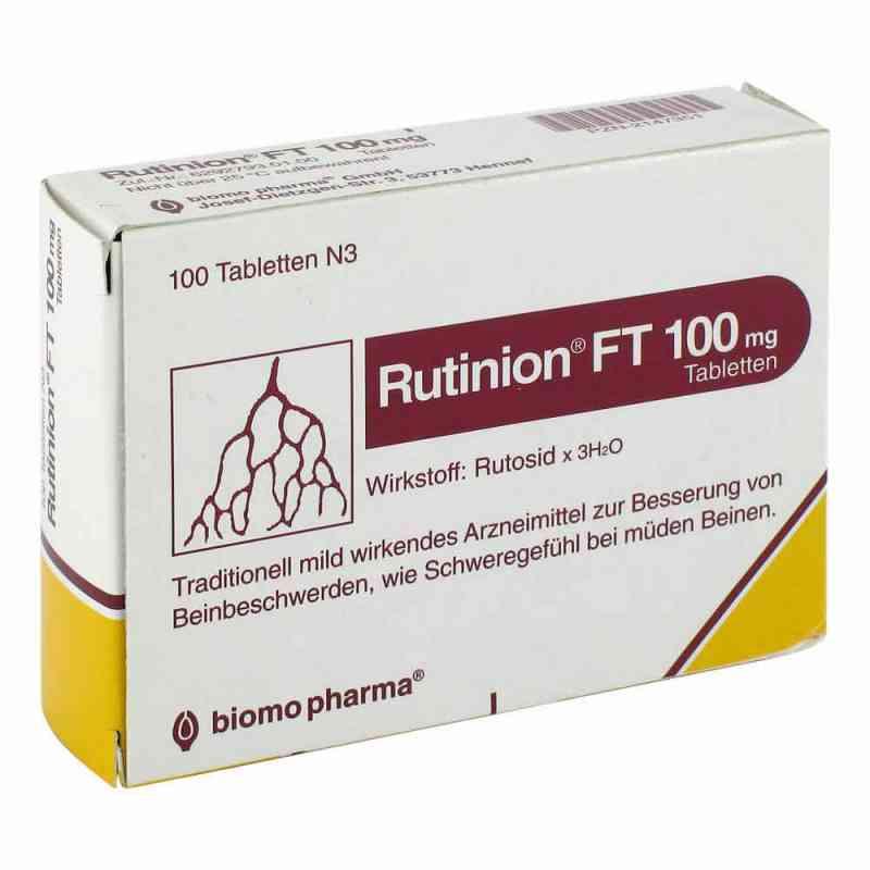 Rutinion FT 100mg  bei versandapo.de bestellen