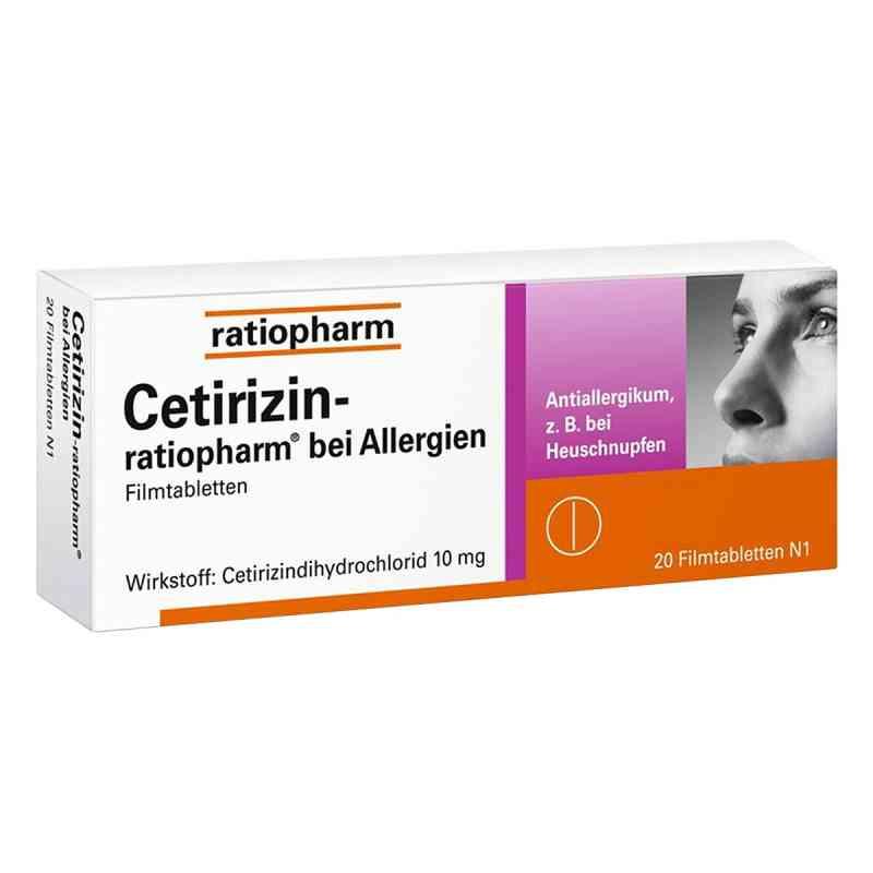 Cetirizin-ratiopharm bei Allergien  bei versandapo.de bestellen