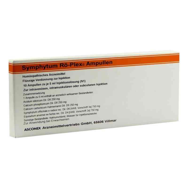 Symphytum Rö Plex Ampullen  bei versandapo.de bestellen