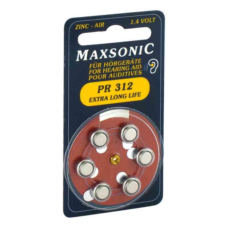 Batterien für Hörgeräte Maxsonic Pr312  bei versandapo.de bestellen