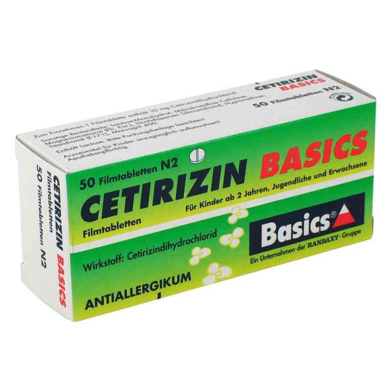 Cetirizin BASICS  bei versandapo.de bestellen
