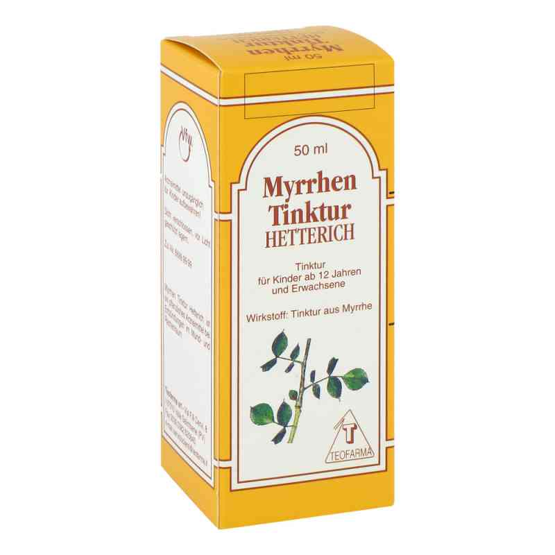 Myrrhentinktur Hetterich  bei versandapo.de bestellen