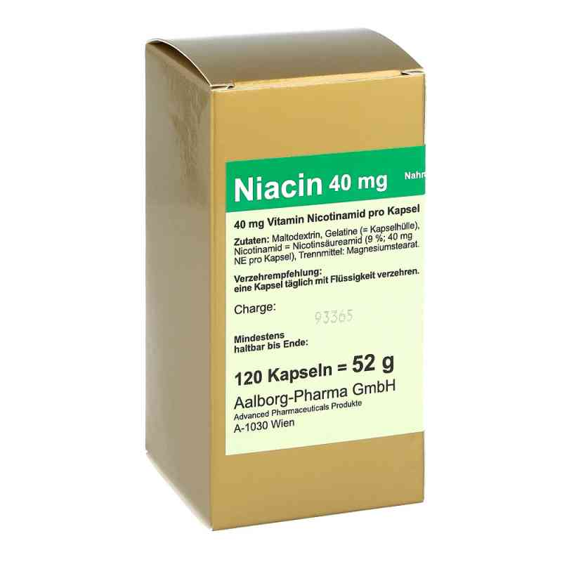 Niacin 40 mg pro Kapsel  bei versandapo.de bestellen