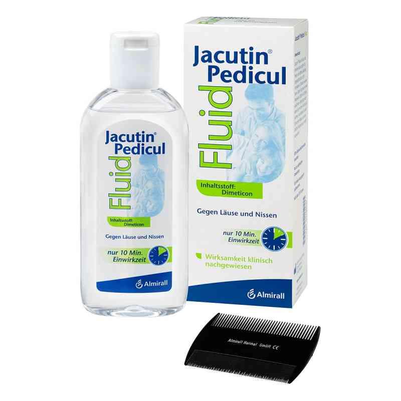 Jacutin Pedicul Fluid mit Nissenkamm  bei versandapo.de bestellen
