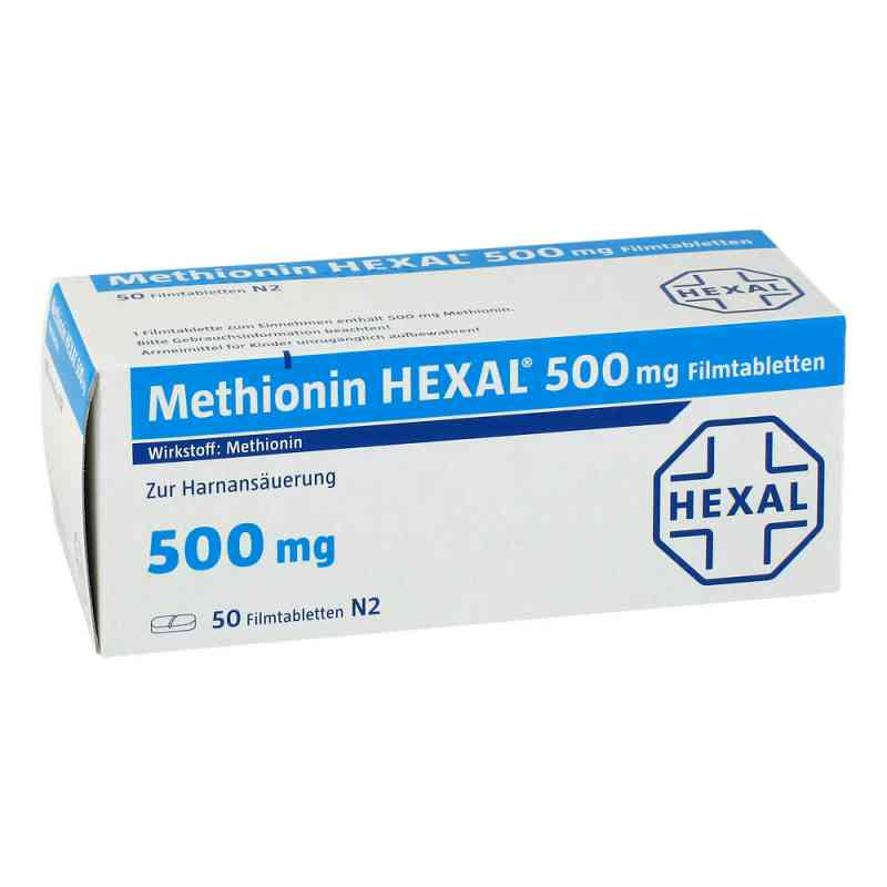 Methionin Hexal 500 mg Filmtabletten  bei versandapo.de bestellen