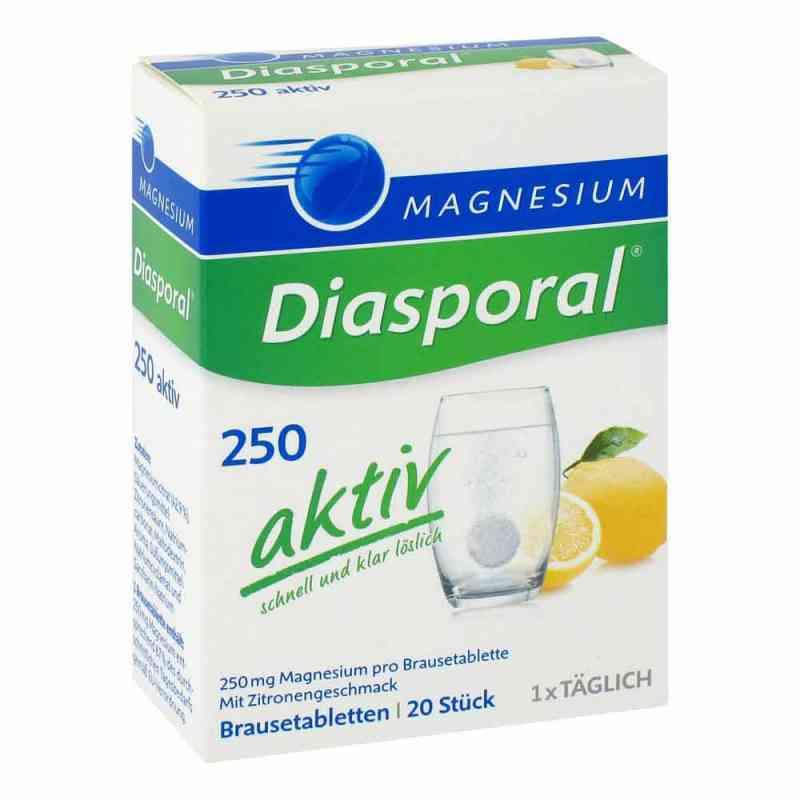 Magnesium Diasporal 250 aktiv Brausetabletten  bei versandapo.de bestellen