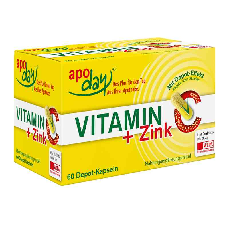 Vitamin C + Zink Depot Kapseln  bei versandapo.de bestellen