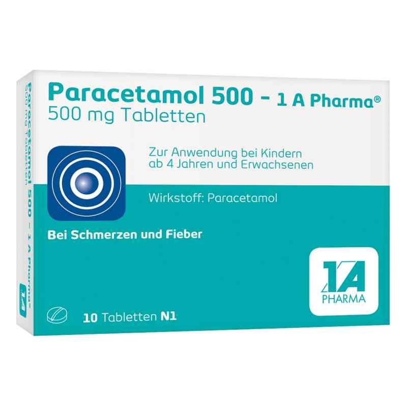 Paracetamol 500-1A Pharma  bei versandapo.de bestellen