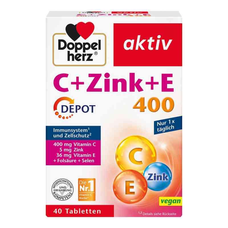 Doppelherz C + Zink + E Depot Tabletten  bei versandapo.de bestellen