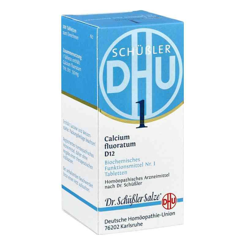 Biochemie Dhu 1 Calcium fluorat.D 12 Tabletten  bei versandapo.de bestellen
