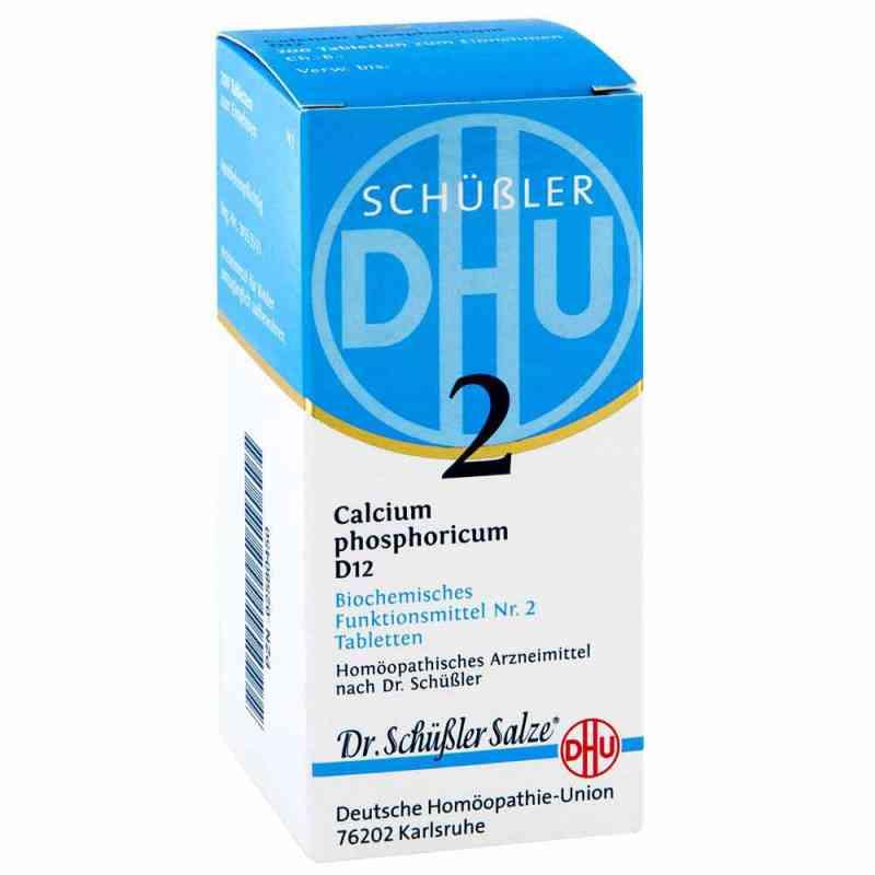 Biochemie Dhu 2 Calcium phosphorus D  12 Tabletten  bei versandapo.de bestellen