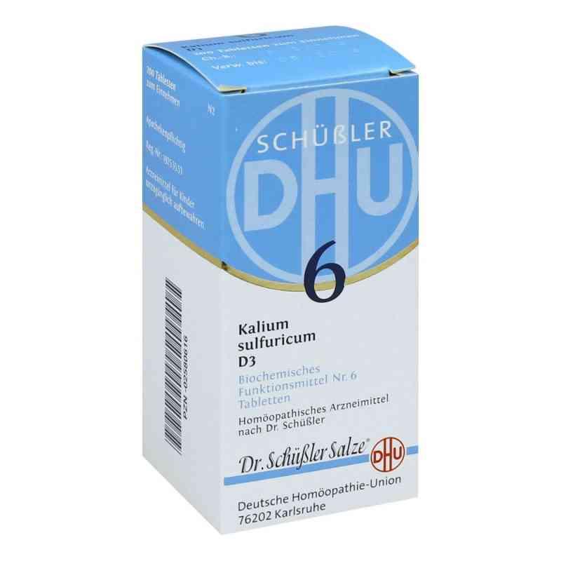 Biochemie Dhu 6 Kalium Sulfur D  3 Tabletten  bei versandapo.de bestellen
