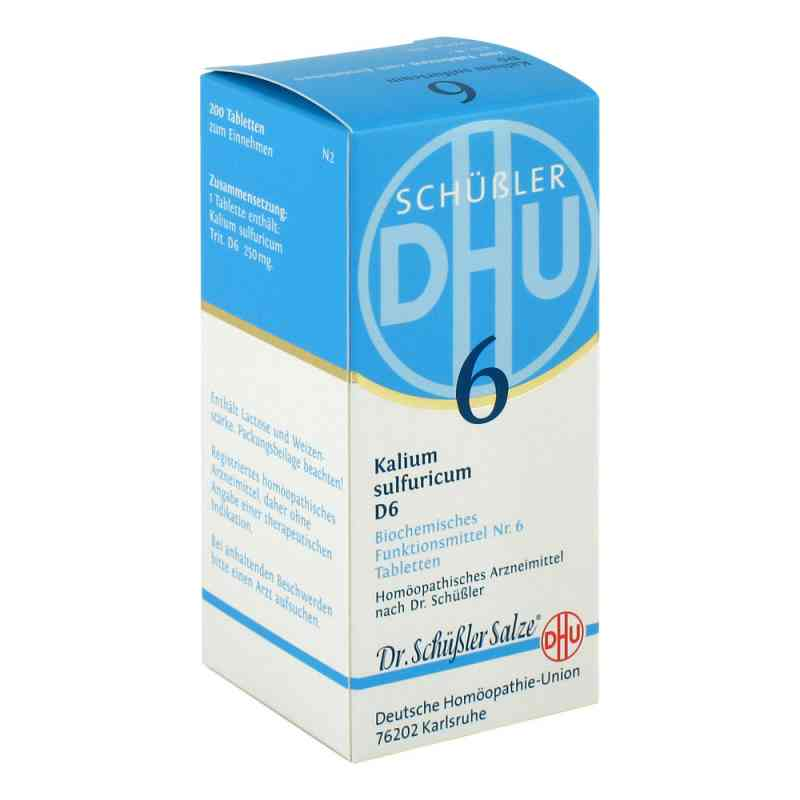 Biochemie Dhu 6 Kalium Sulfur D  6 Tabletten  bei versandapo.de bestellen