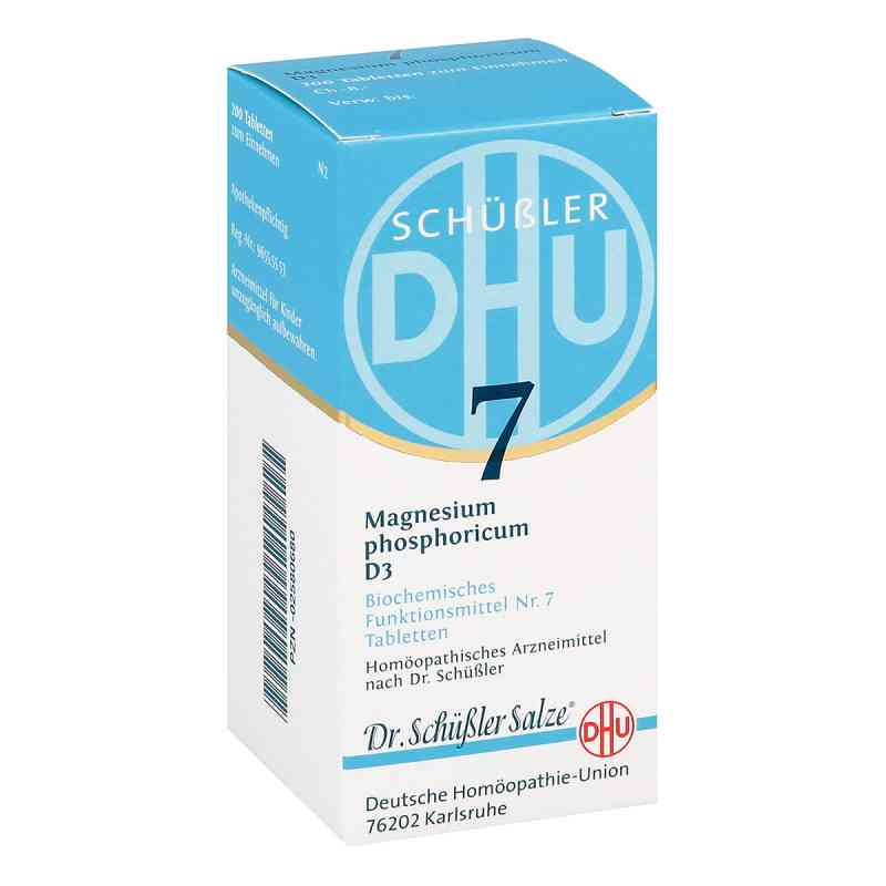 Biochemie Dhu 7 Magnesium phosphoricum D  3 Tabletten  bei versandapo.de bestellen