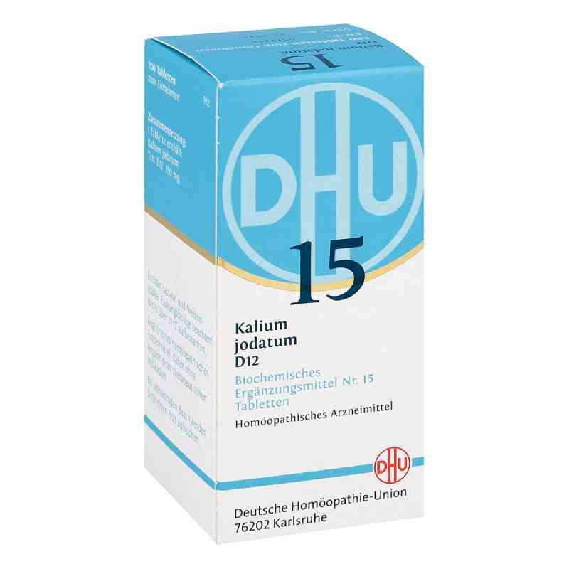 Biochemie Dhu 15 Kalium jodatum D 12 Tabletten  bei versandapo.de bestellen