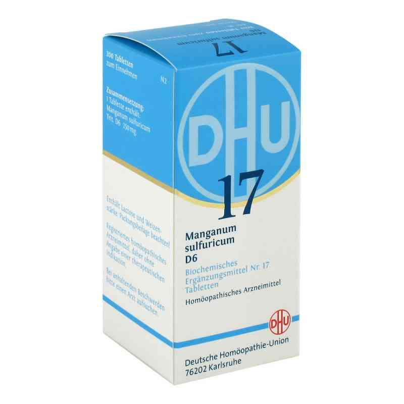 Biochemie Dhu 17 Manganum sulfuricum D 6 Tabletten  bei versandapo.de bestellen
