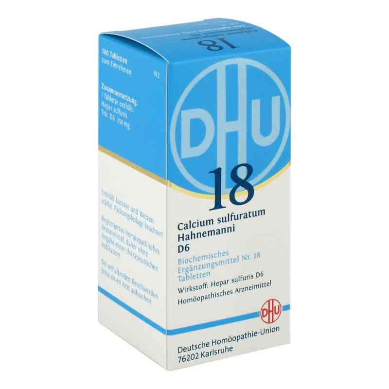 Biochemie Dhu 18 Calcium sulfuratum D 6 Tabletten  bei versandapo.de bestellen