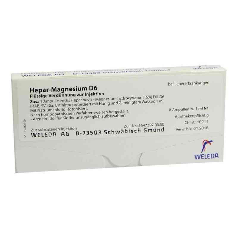 Hepar-magnesium D 6 Ampullen  bei versandapo.de bestellen