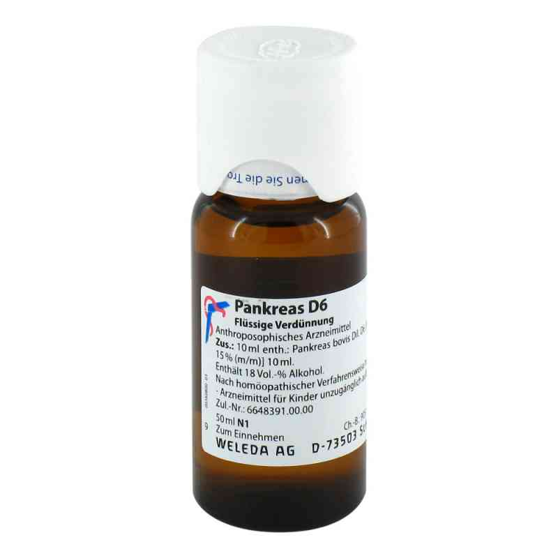 Pankreas D 6 Dilution  bei versandapo.de bestellen