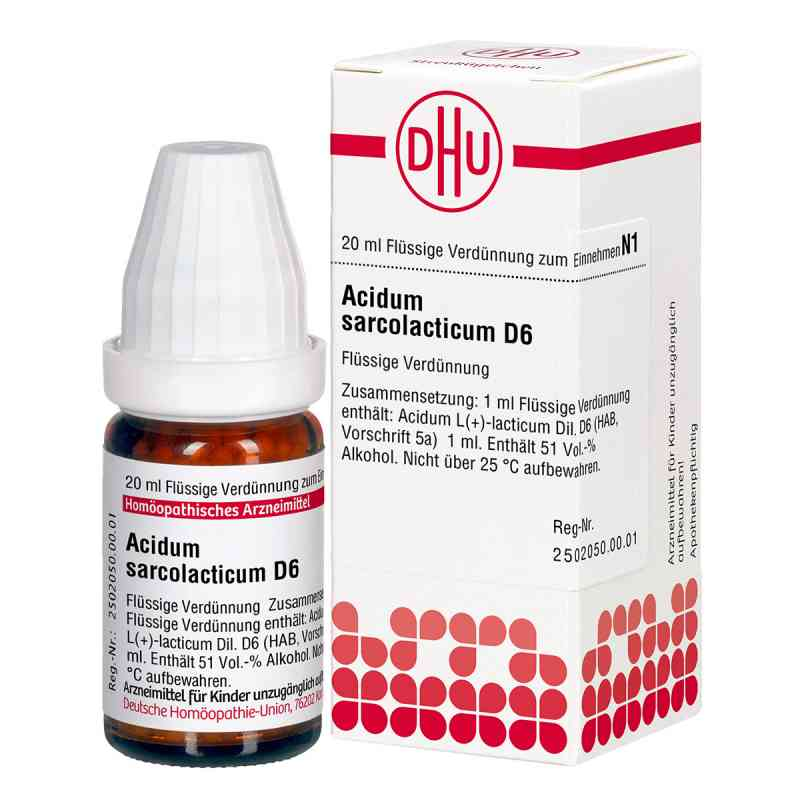 Acidum Sarcolactic D 6 Dilution  bei versandapo.de bestellen