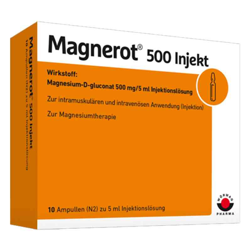 Magnerot 500 Injekt Ampullen  bei versandapo.de bestellen