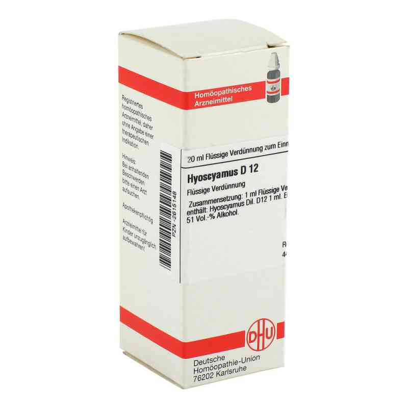 Hyoscyamus D 12 Dilution  bei versandapo.de bestellen