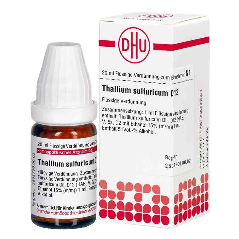 Thallium Sulf. D 12 Dilution  bei versandapo.de bestellen