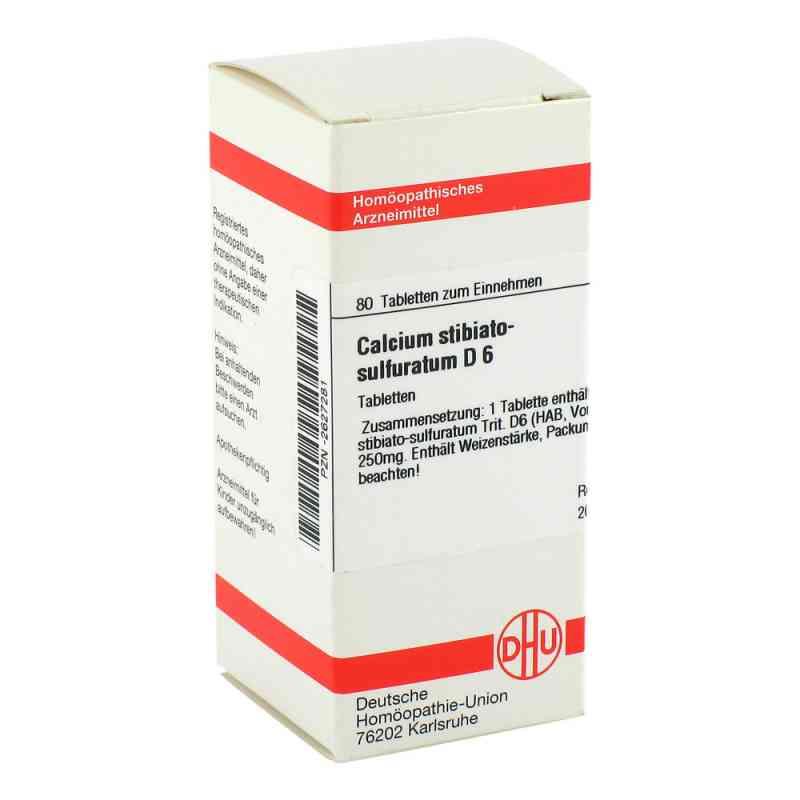 Calcium Stibiato Sulfuratum D 6 Tabletten  bei versandapo.de bestellen