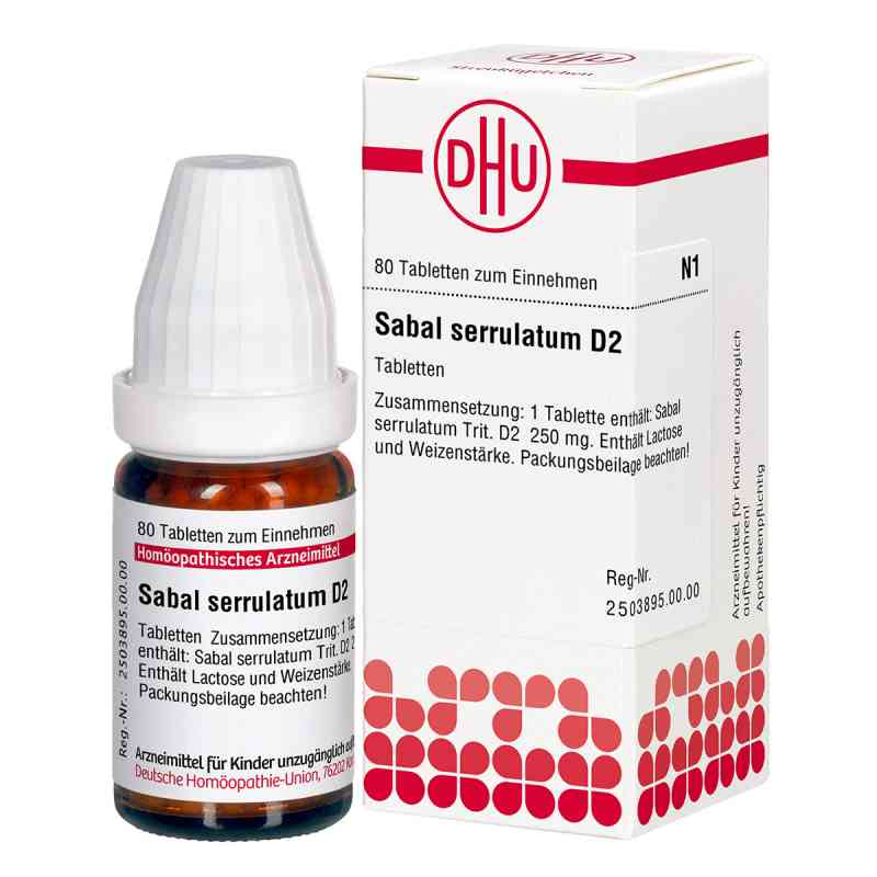Sabal Serrul. D 2 Tabletten  bei versandapo.de bestellen