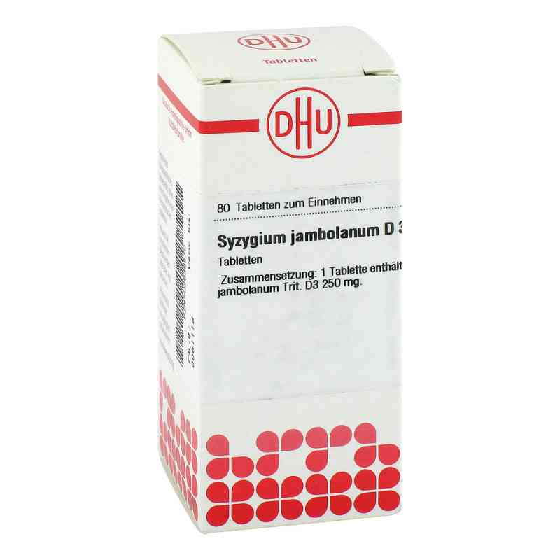 Syzygium Jambolanum D 3 Tabletten  bei versandapo.de bestellen