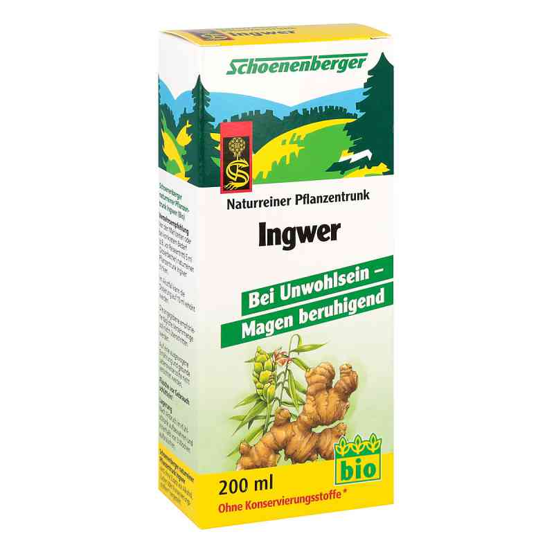 Ingwer Pflanzentrunk Schoenenberger  bei versandapo.de bestellen